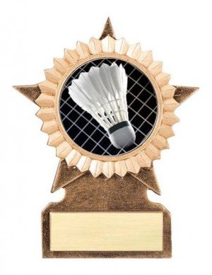 Badminton Star Stand Trophy