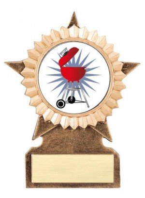 Barbecue Star Stand Trophy
