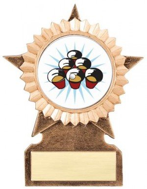 Beer Pong Star Stand Trophy