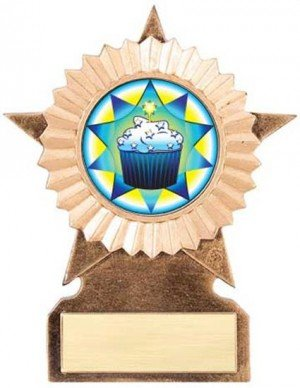Cupcake Star Stand Trophy