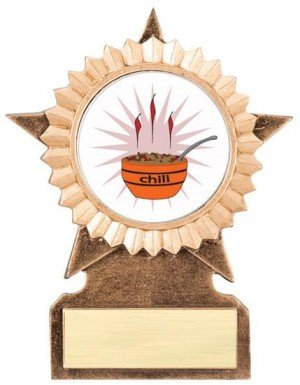 Chili Cook Off Star Stand Trophy