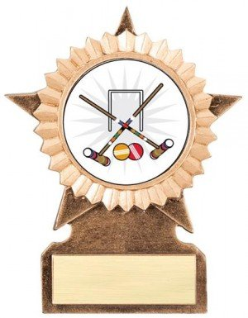 Croquet Star Stand Trophy