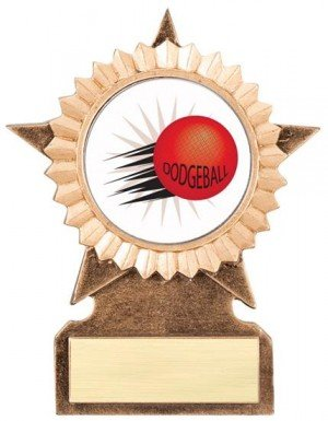 Dodgeball Star Stand Trophy