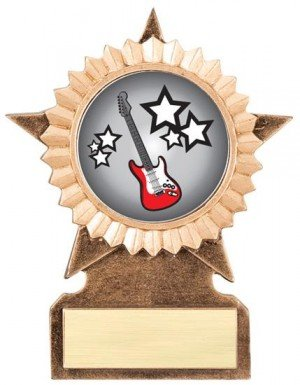 Guitar Star Stand Trophy