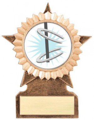 Horseshoe Star Stand Trophy