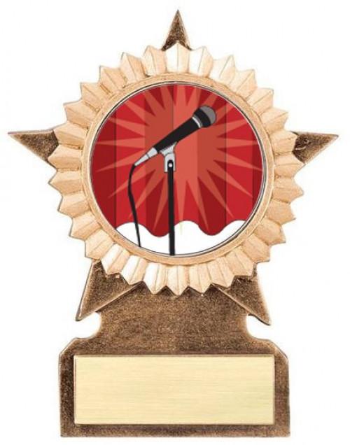 Karaoke Star Stand Trophy