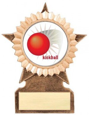 Kickball Star Stand Trophy