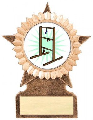 Ladder Golf Star Stand Trophy