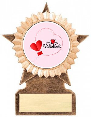 Valentine's Day Star Stand Trophy
