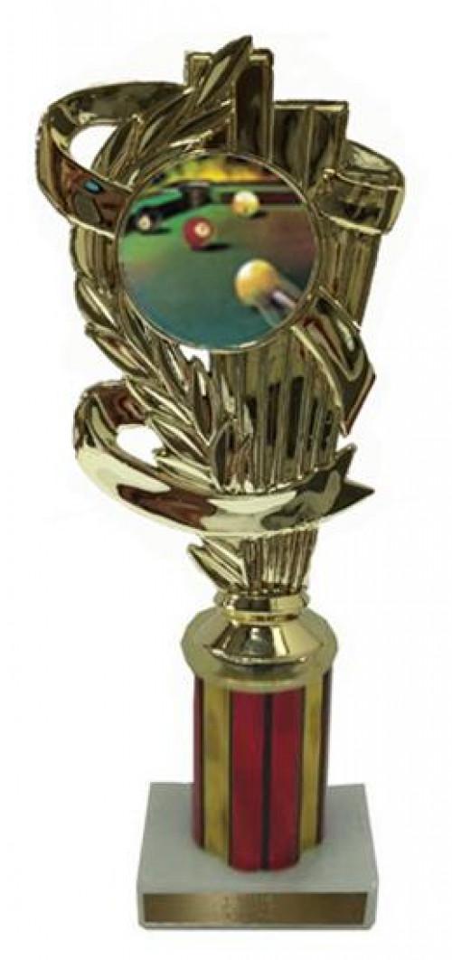 Billiard 1 Column Trophy