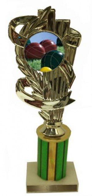 Bocce Ball Column Trophy