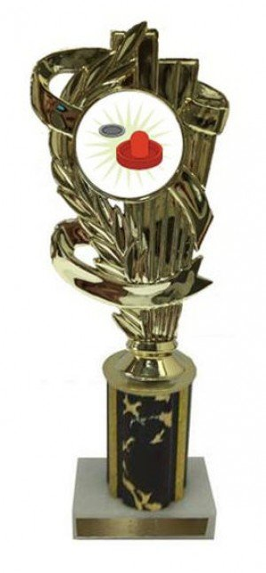 Air Hockey Column Trophy