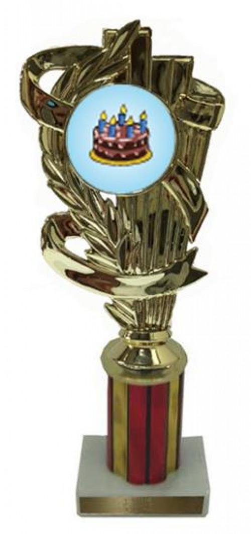 Cake Decorating Column Trophy