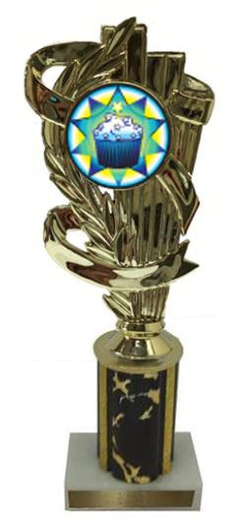 Cupcake Column Trophy