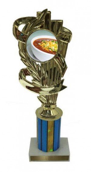 Chili Bowl Column Trophy