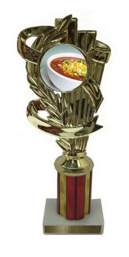 Chili Bowl Column Trophy