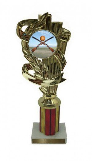 Sporting Clay Column Trophy