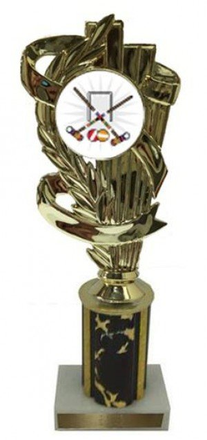 Croquet Column Trophy