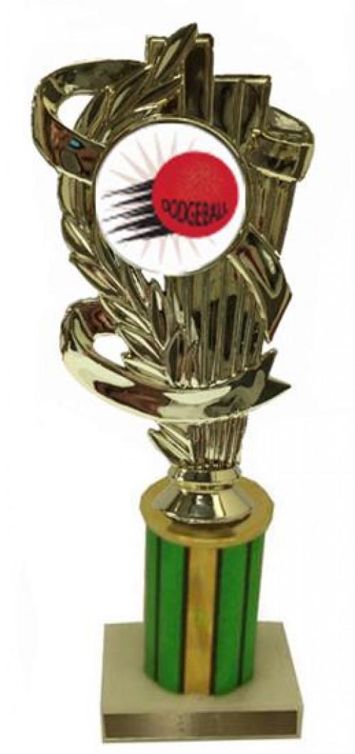Dodgeball Column Trophy