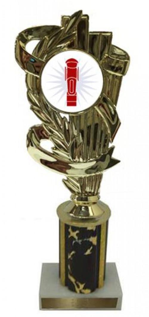 Foosball Column Trophy