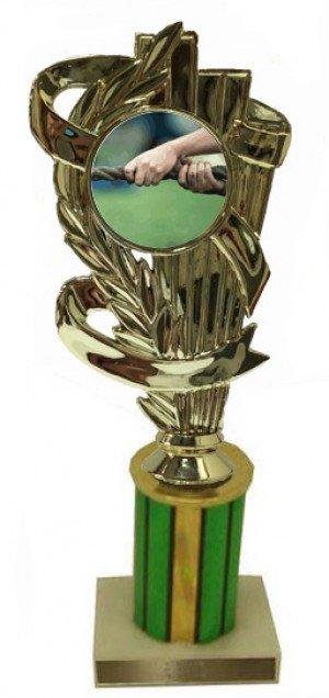 Tug of War Column Trophy