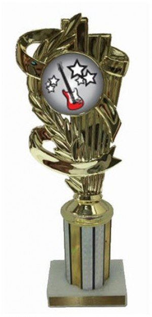 Guitar Column Trophy