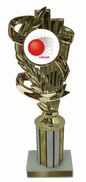 Kickball Column Trophy