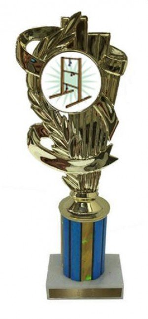 Ladder Golf Column Trophy