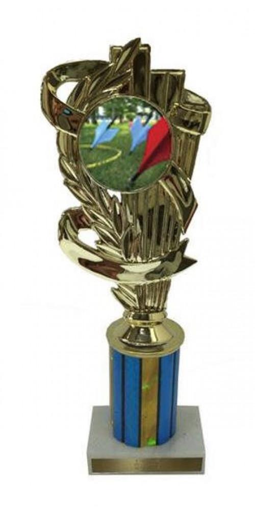 Lawn Dart Column Trophy