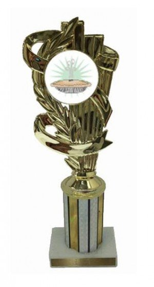 Pie Bake Off Column Trophy