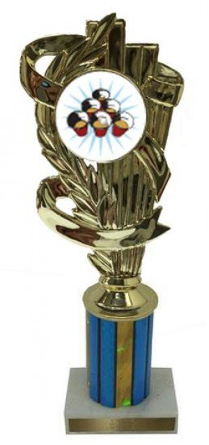 Beer Pong Column Trophy
