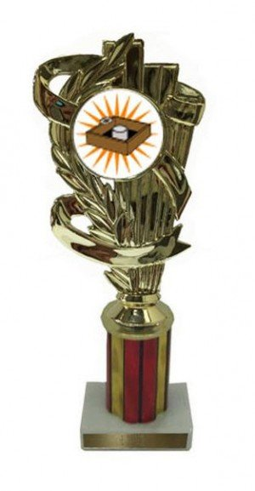Washer Toss Column Trophy