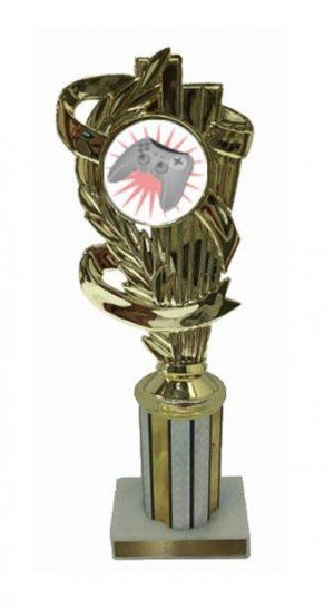 Video Game Column Trophy