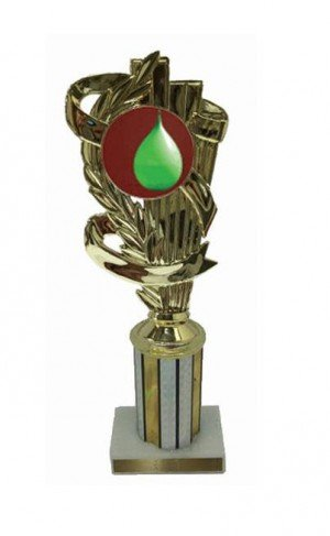 Water Balloon Column Trophy
