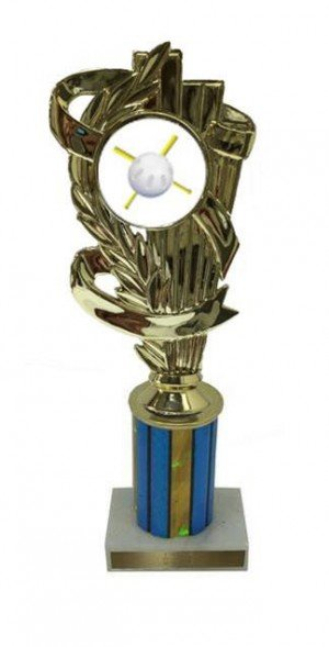 Wiffle Ball Column Trophy