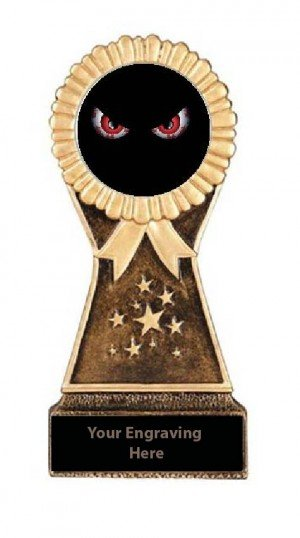 Resin Stand Halloween Scariest Costume Trophies