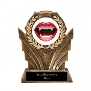 Halloween Sexiest Costume Victory Resin Trophy