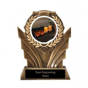 BBQ Smoker Victory Resin Trophies
