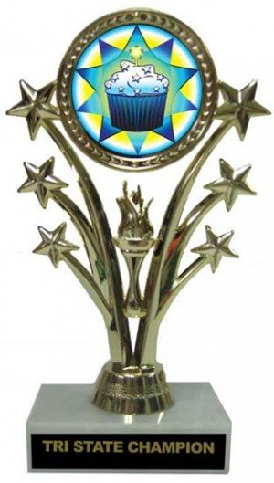 Star Cupcake Trophy