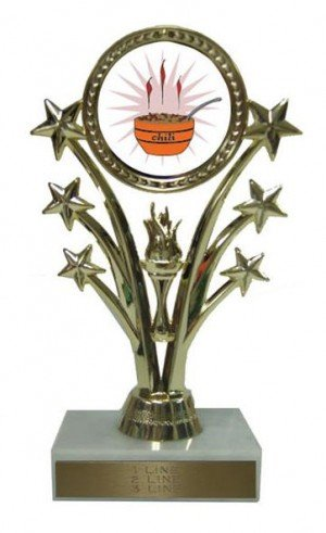 Chili Cook Off Stars Trophy