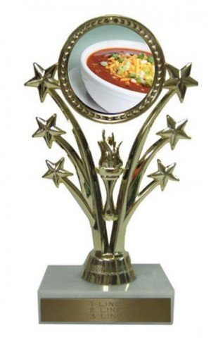 Chili Bowl Cook Off Stars Trophy