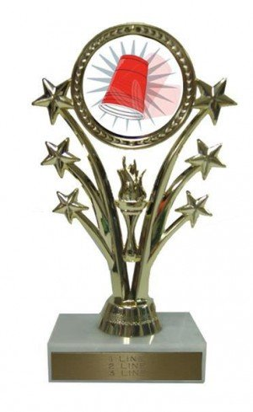 Flip Cup Stars Trophy