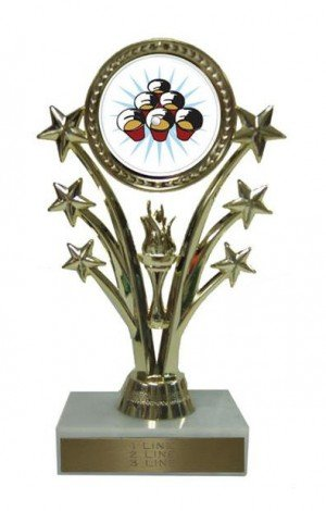 Beer Pong Star 7 Inch Trophy