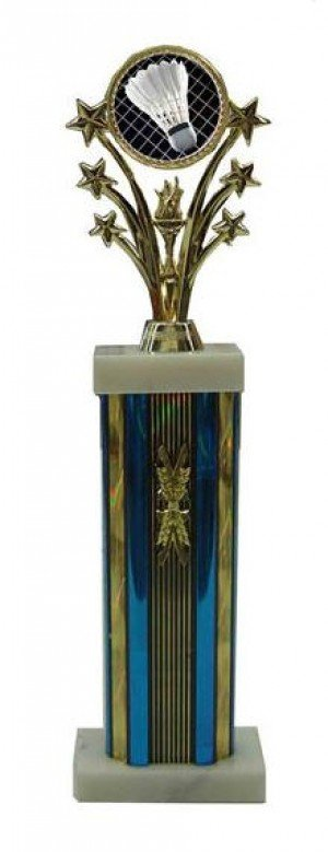Large Star Column Croquet Trophies
