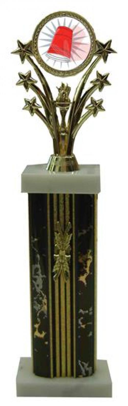 Star Column Flip Cup Trophies