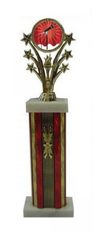 Star Column Karaoke Trophies