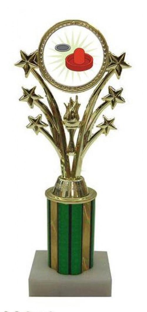 Air Hockey Star Column Trophy