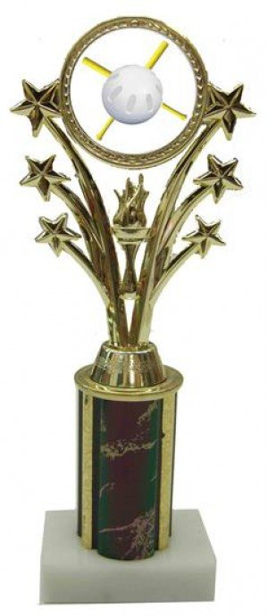 Wiffle Ball Star Column Trophy