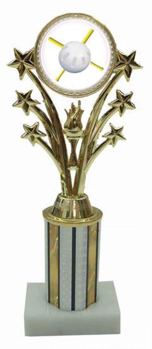 Wiffle Ball Star Column Trophy
