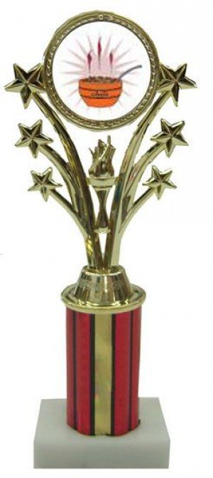 Chili Cook Off Star Column Trophy